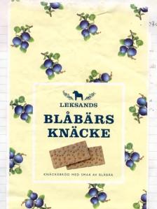 Blaubeerknäckebrot aus Schweden