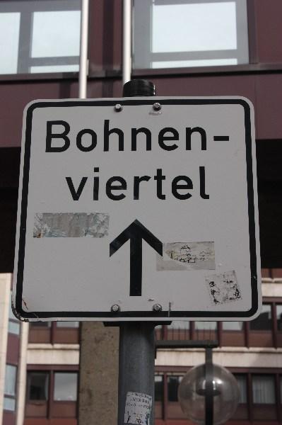 Bohnenviertel in Stuttgart, Oktober 2012