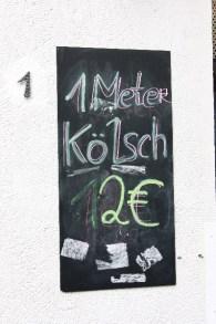 Kölsch im Angebot, Kölner Altstadt 2011