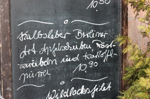 Kalbsleber Berliner Art, Berlin 2010