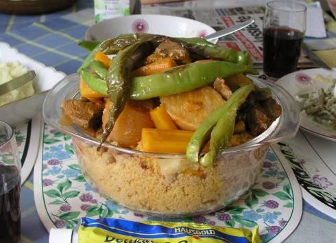 Couscous mit Lamm und Gemüse, Porz 2005