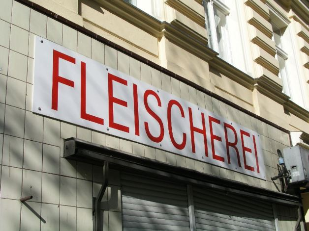 Metzgerladen im legendären Berlin, 2008