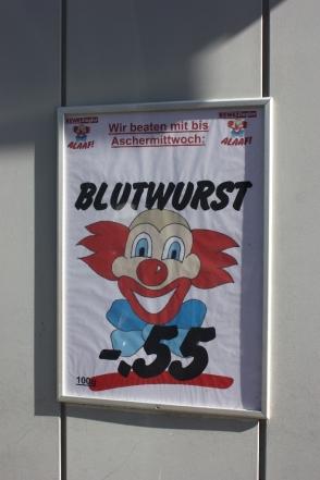 Kamelle aus Wurst, Köln 2011