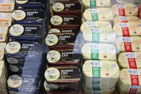 Keine Margarine, aber weltberühmte Butter, Isigny sur Mer 2011