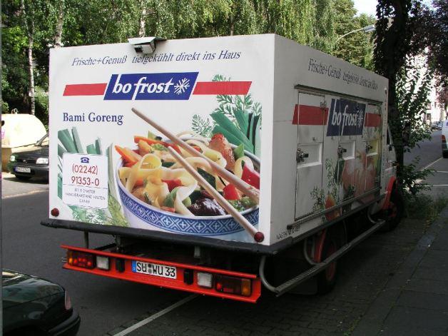 Kühlschrank – große Variante, Bonn 2004