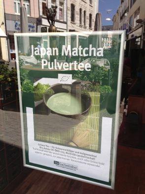 Japan Matcha Pulvertee, Bonn 2013