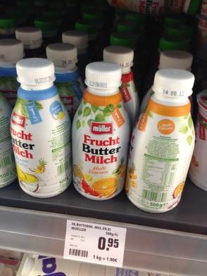 Fruchtbuttermilch, Aachen 2013