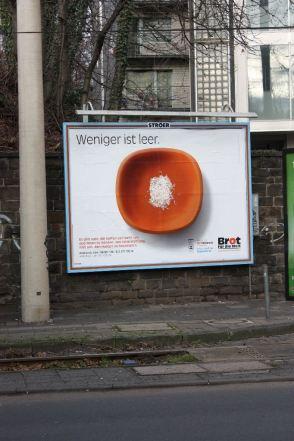 """Kampagne der Aktion """"Brot für die Welt"""", Köln 2011"""