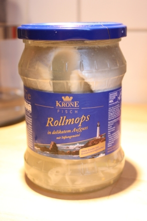 Rollmops in delikatem Aufguss mit Süßungsmittel, Köln 2012