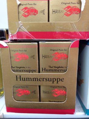 Original-Paste für Hamburger Hummersuppe, Aachen 2013