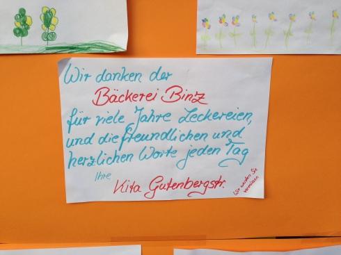 Traurige Kinderbriefe, Köln 2014
