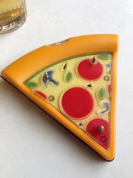 Pizza mit blauen Champignons, Knetzgau 2014