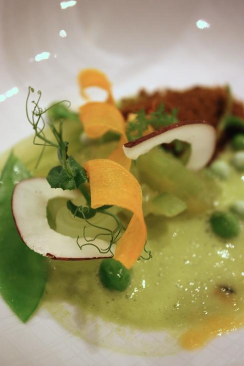 """Erbse"" - Rotonda Restaurant, Köln 2014"