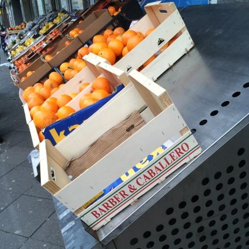 Türkischer Supermarkt am Adalbertsteinweg, Aachen 2016