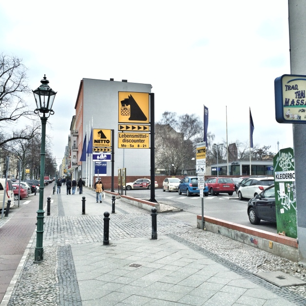 Netto im Westend, Berlin 2016