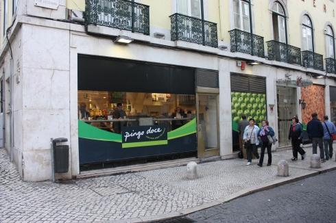 Supermarkt Pingo Doce, Lissabon 2016