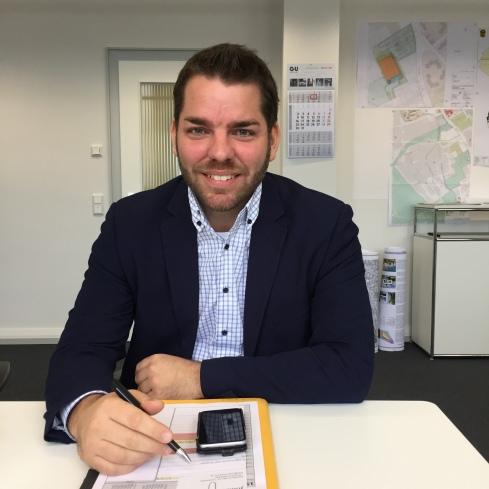 Thomas Hissel, Erster Beigeordneter und Stadtkämmerer der Stadt Düren, Dezember 2016