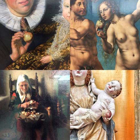 Frans Hals | Catharina Hooft mit ihrer Amme | um 1619/20 Jan Gossaert | Der Sündenfall | um 1525 Nicolaes Maes | Alte Frau beim Apfelschälen | um 1655 Meister des Gereon-Altars | Marienaltar aus St. Gereon | um 1420/30