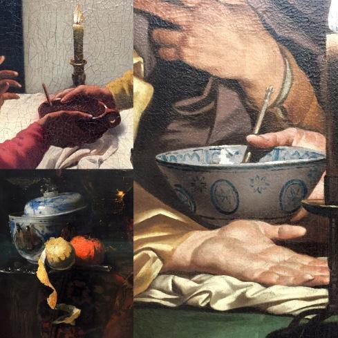 Hendrick ter Brugghen | Esau verkauft sein Erstgeburtsrecht | o.J. Matteus Stom | Esau verkauft sein Erstgeburtsrecht | o.J. Willem Kalf | Stilleben mit chinesischer Porzellandose | 1662