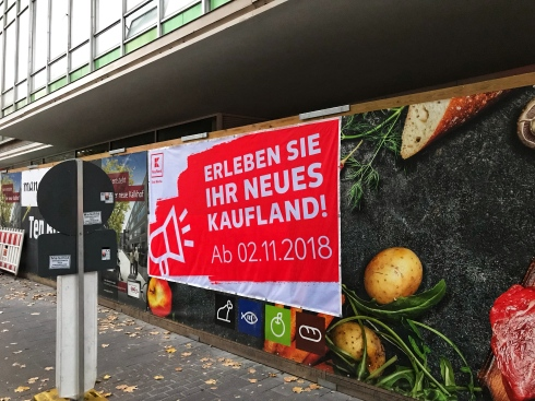 ehemaliger Kaufhof, Kalker Hauptstraße, Oktober 2018