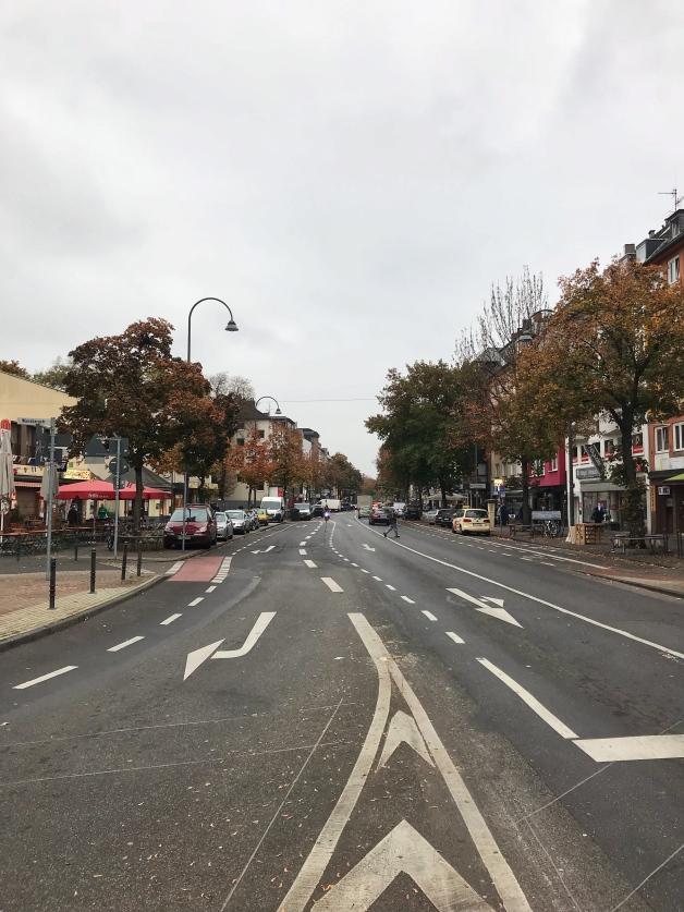 Kalker Hauptstraße, Köln, Oktober 2018