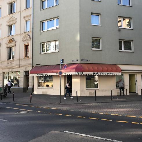 Metzgerei Giuseppe Iaia, Rolshover Straße, Oktober 2018